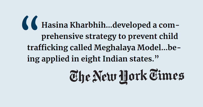 Hasina Kharbhih NYTimes