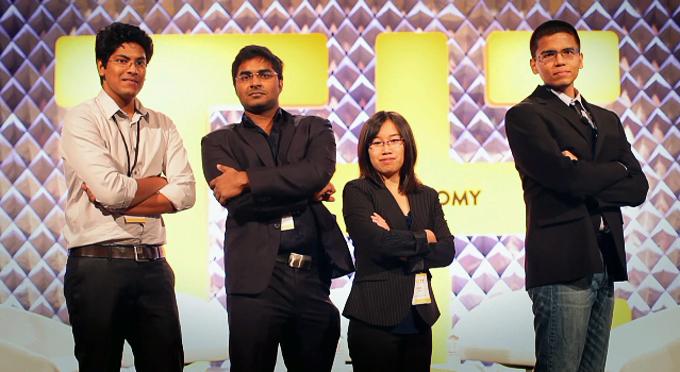 4 entrepreneurs