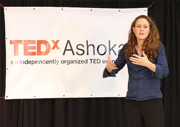 Aleta Margolis TEDxAshokaU Talk