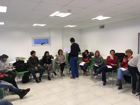 Emprendedores sociales y sus equipos