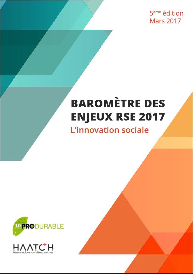 Baromètre 2017 des enjeux RSE