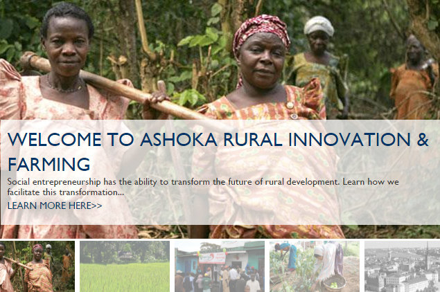 Ashoka's work in Rural Innovation and Farming