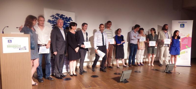 Remise prix finalistes programme impact mobilité 2015