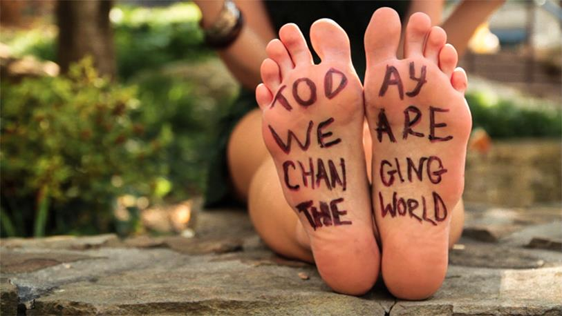 Feet Changing the World