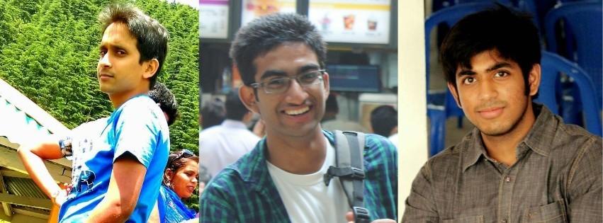 Prateek Agarwal, Subham Agarwala and Siddhant Kethan