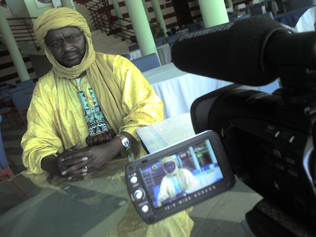 Interviewing Ibrahim ag Idbaltanat - Mali