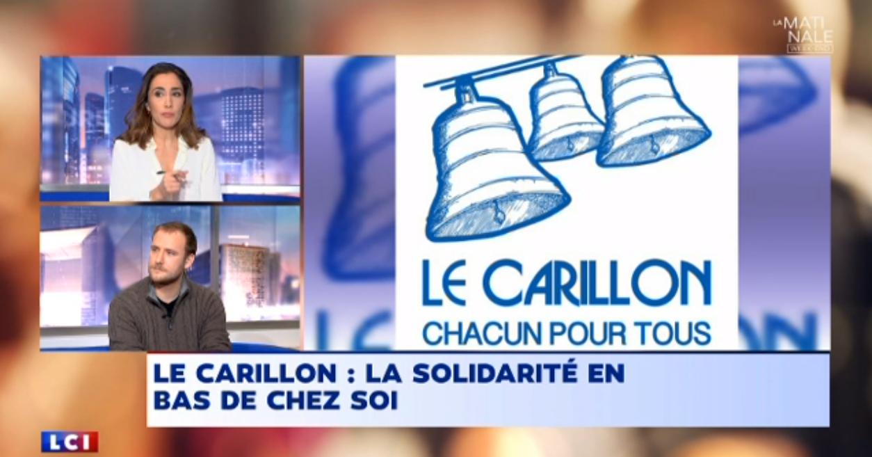 Louis-Xavier Leca et Isabelle Torre sur LCI le 24 décembre 2017