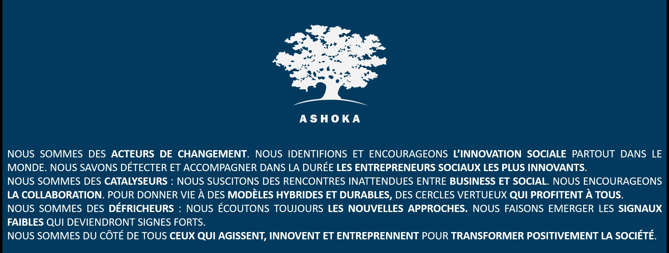 Manifeste Ashoka