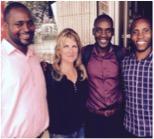 EIR Maureen Sigliano with CIYOTA team in Uganda