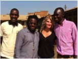 Maureen with CIYOTA team in Uganda