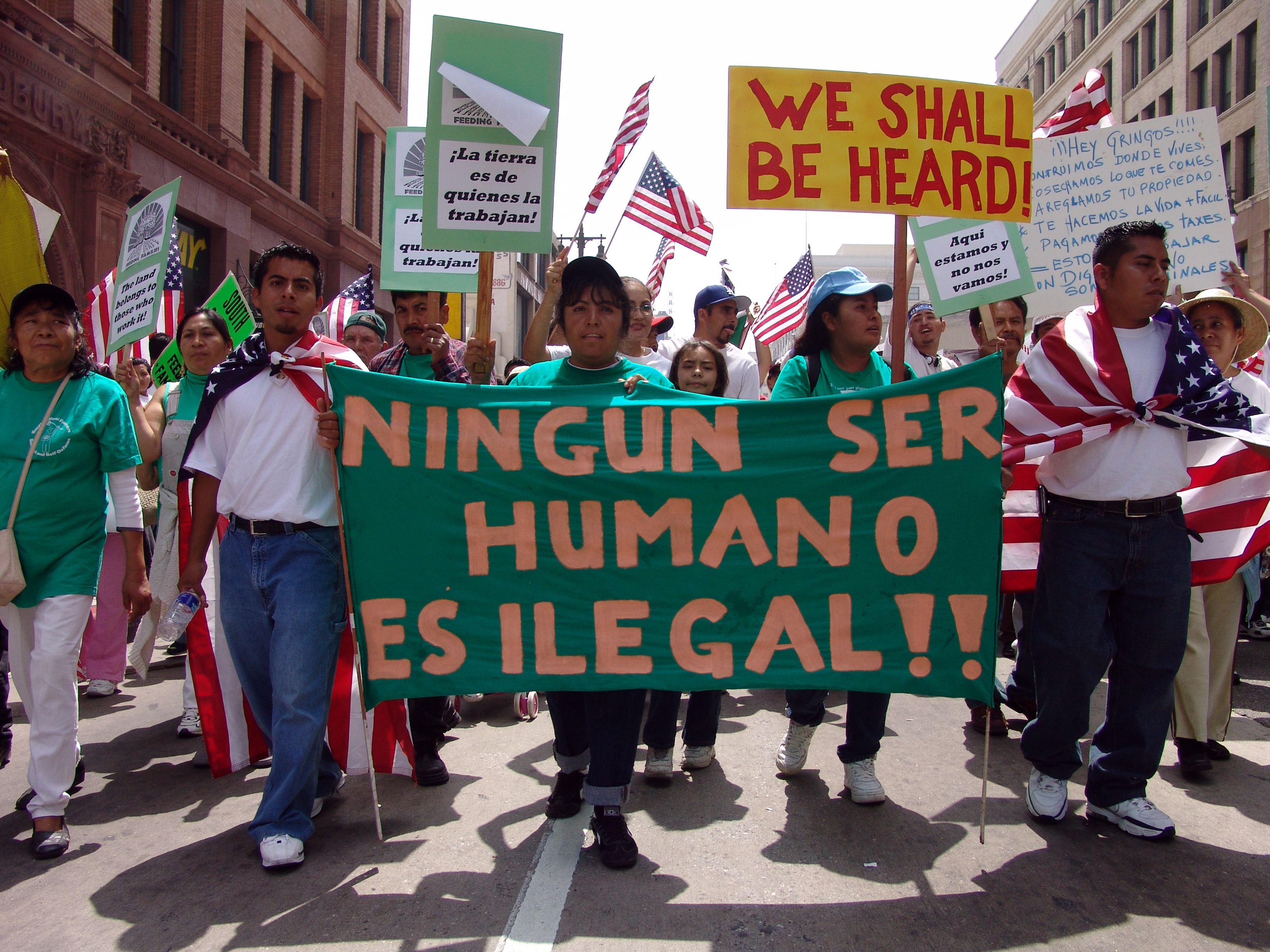 Photo from May Day Immigration March