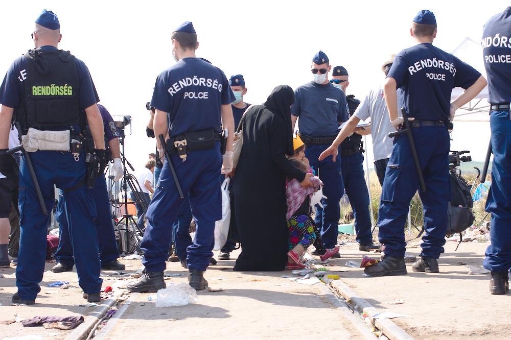 Refugee police