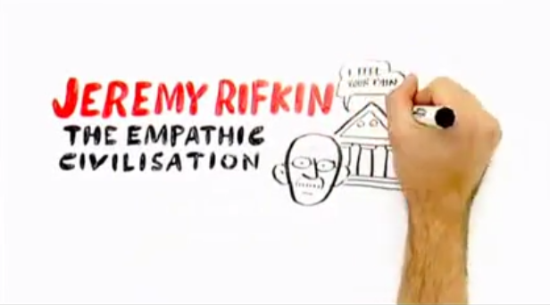 Rifkin video empathetic civillization