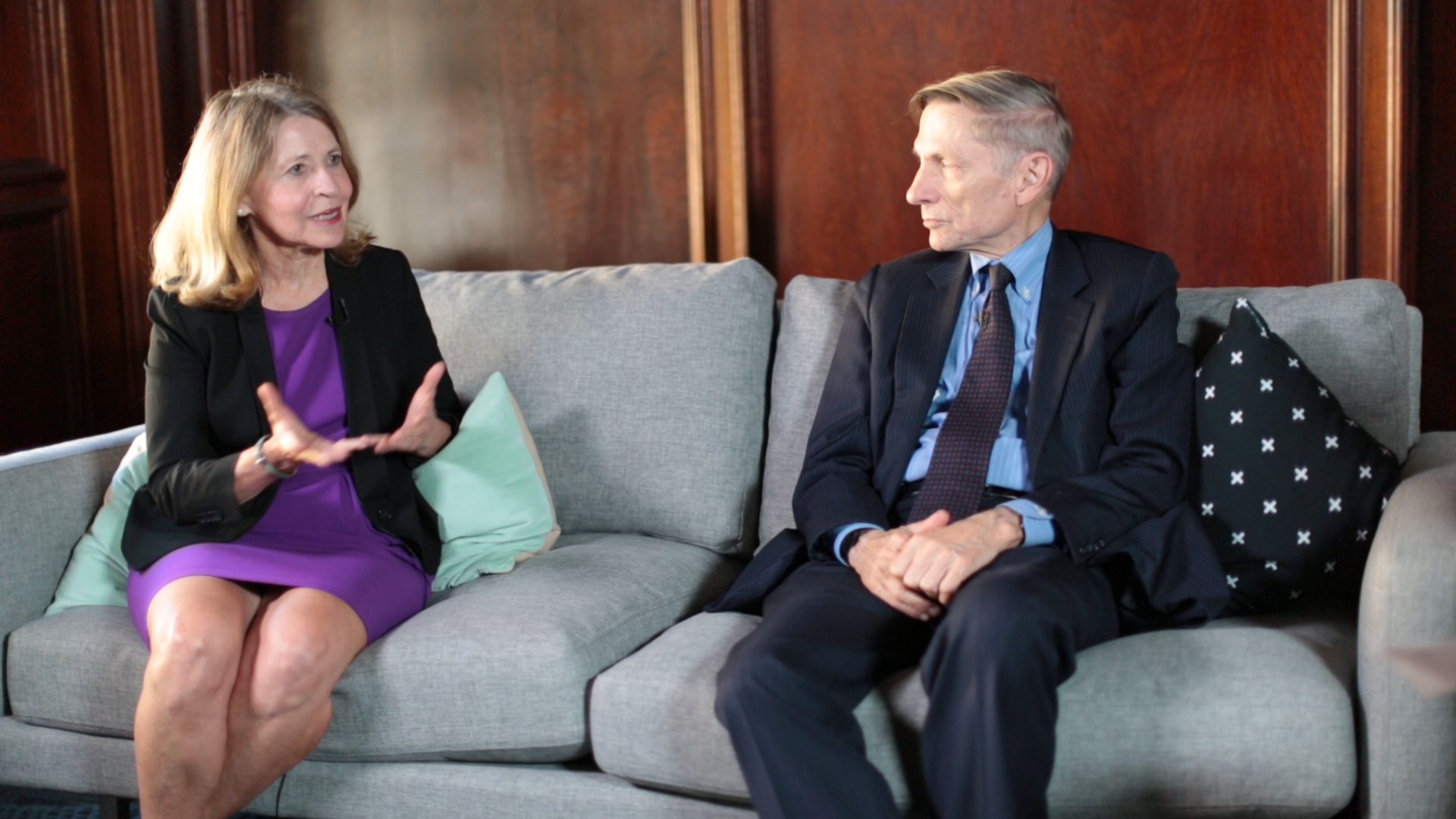 Sally Osberg and Bill Drayton
