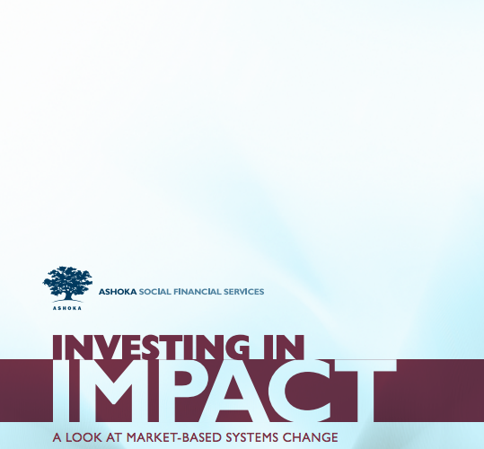 Investing In Impact - 2013 Report Cover Image