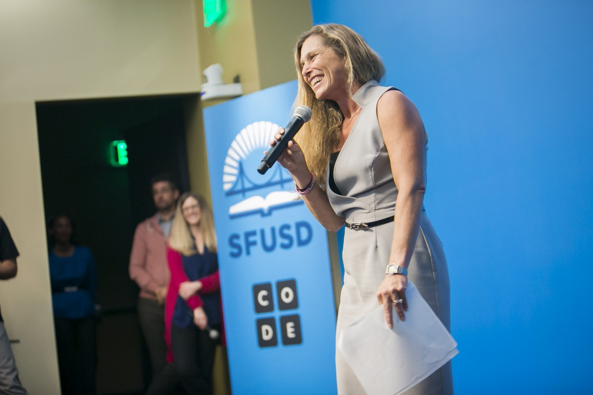 Salesforce Chief Philanthropy Officer Suzanne DiBianca Wants All Companies To Drive Social Change