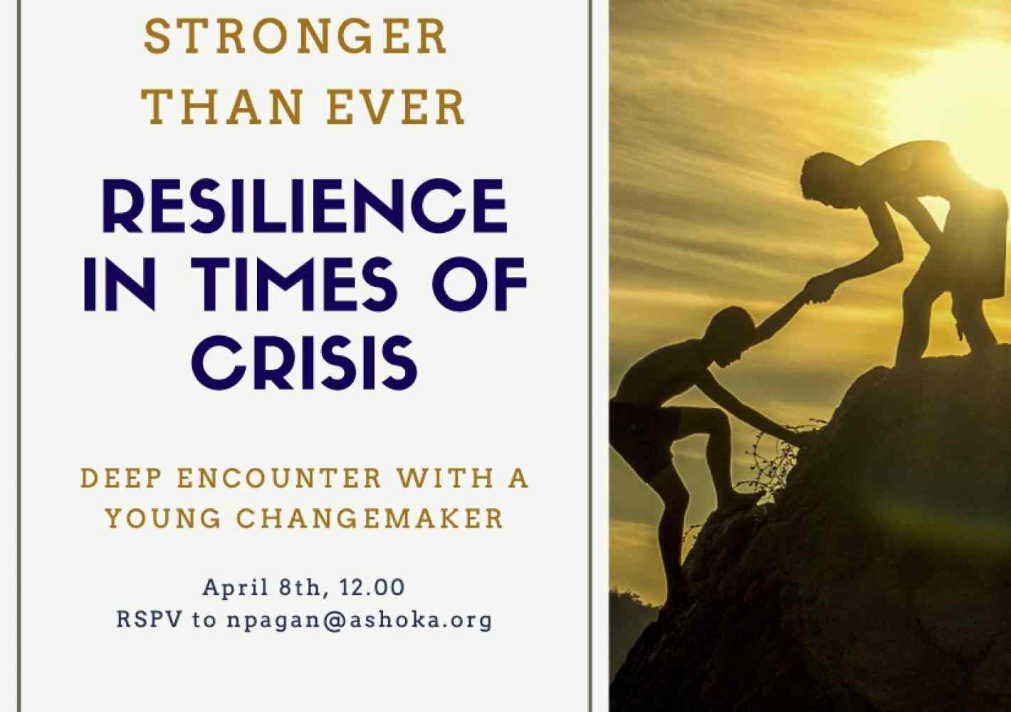 Resilience in times of crisis
