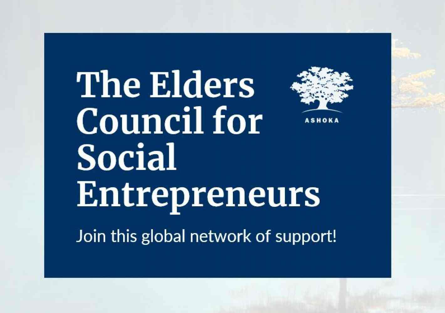 The Elders Council for Social Entrepreneurs