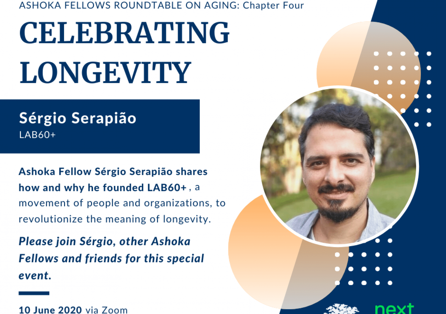 Sérgio Serapião: Celebrating Logevity