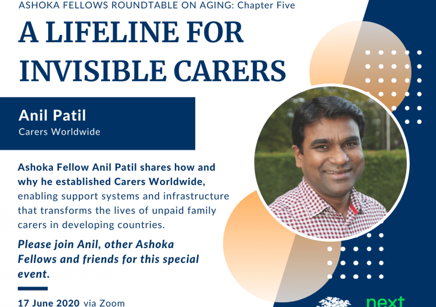 Anil Patil: A Lifeline for Invisible Carers