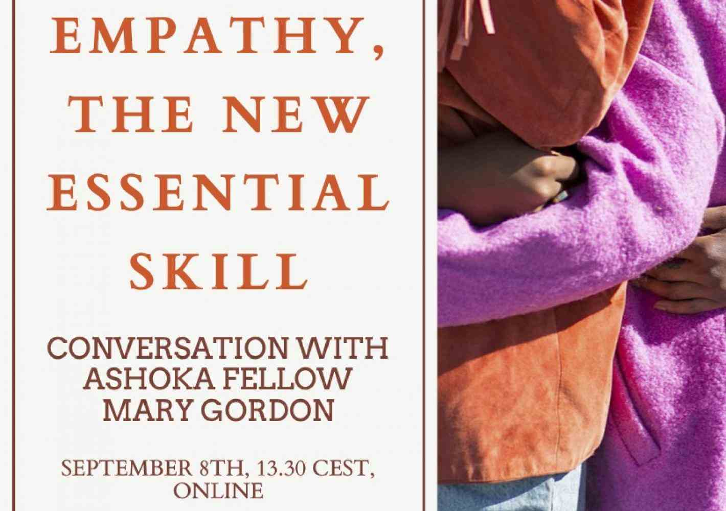 Empathy, inspirational talk, Mary Gordon