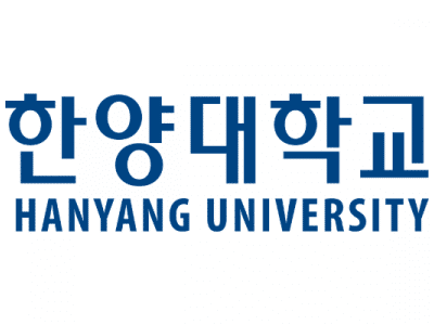 Navy Hanyang University text in English under text in Korean.