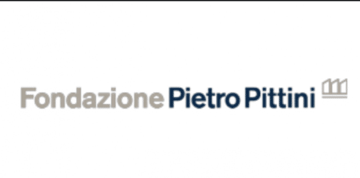 Logo of Fondazione Pietro Pittini, partner of Ashoka Italy; Grey bold letters Fondazione, then Dark Blue bold letters Pietro Pittini