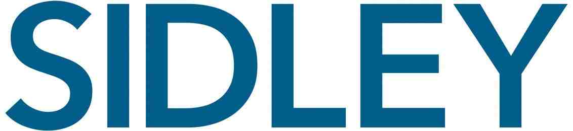 Partner Logo for Sidley. SIDLEY all in capital blue letters