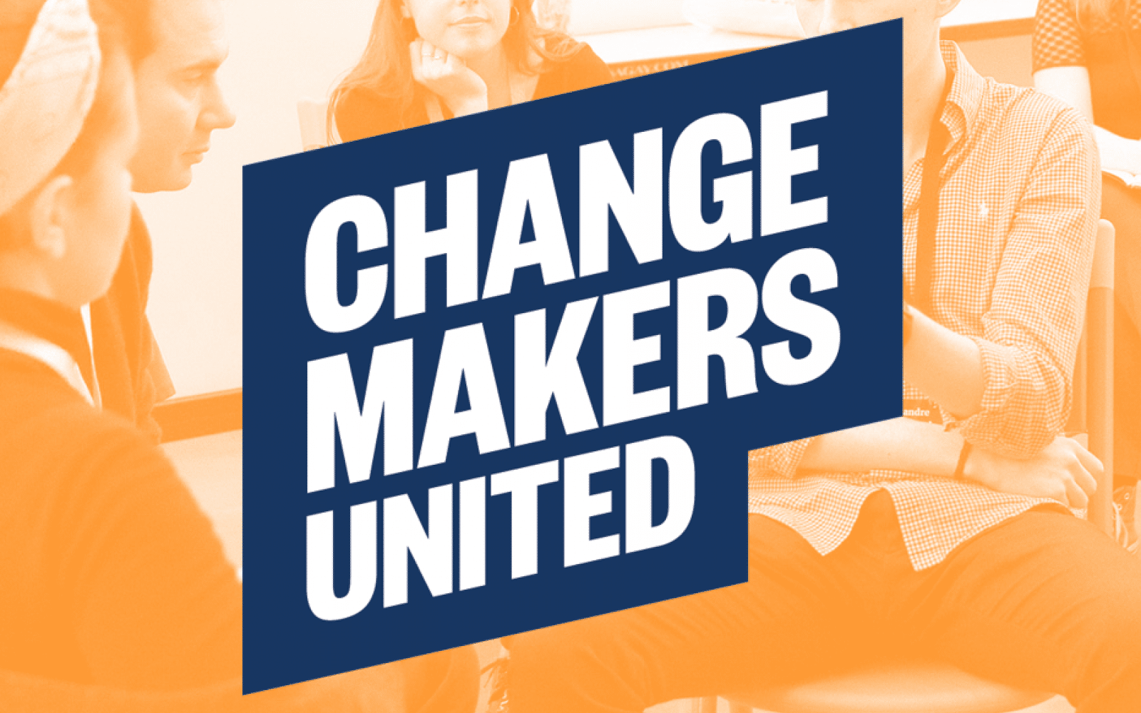 changemajers united orange blue