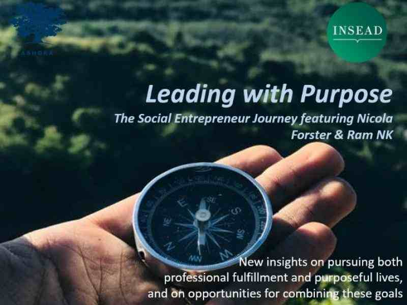 Leading with purpose insead
