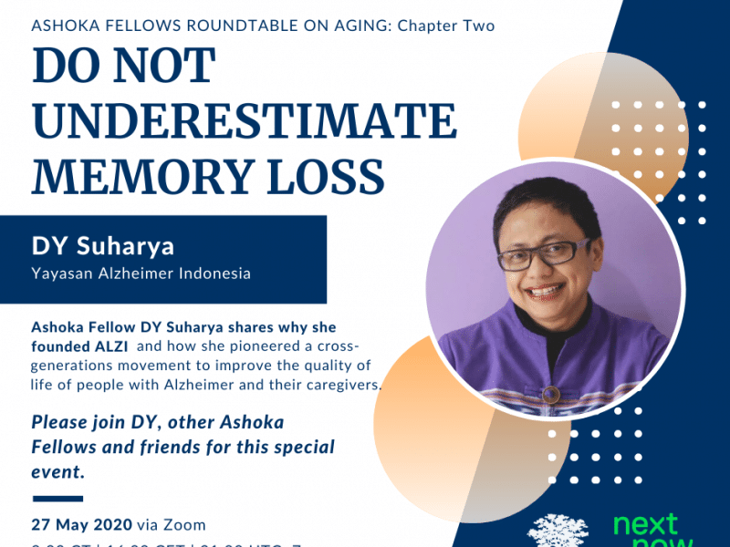 Dy Suharya: Don´t Underestimate Memory Loss
