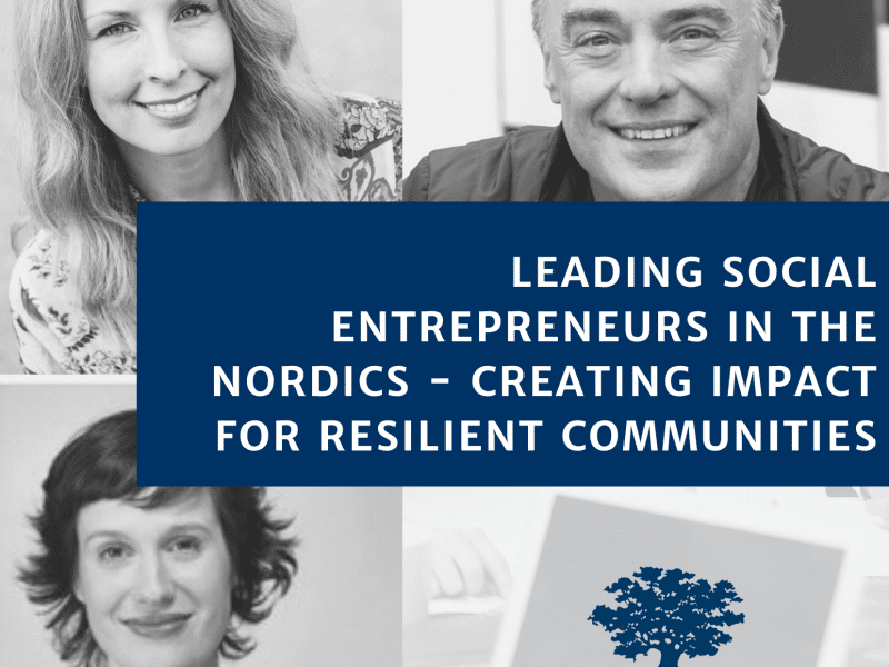 creating impact for resilient communities