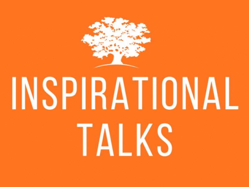 Inspirational talks series Switzerland