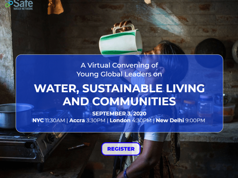 Water, Sustainability, and Communities event for Young Changemakers