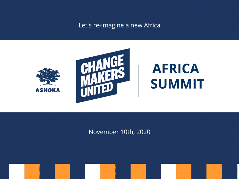 Changemakers United Africa summit poster