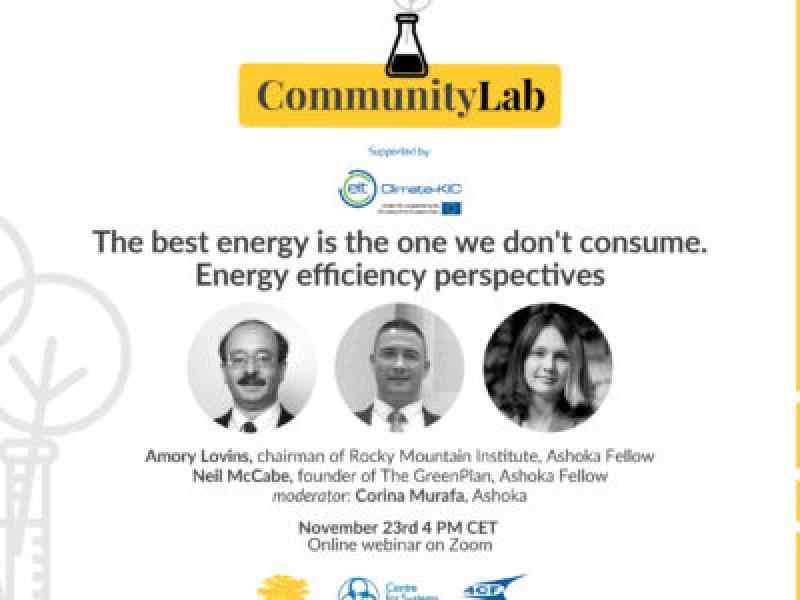 Climate Community Lab Event Poster