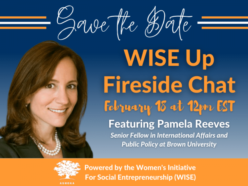 WISE Up Fireside Chat with Pamela Reeves