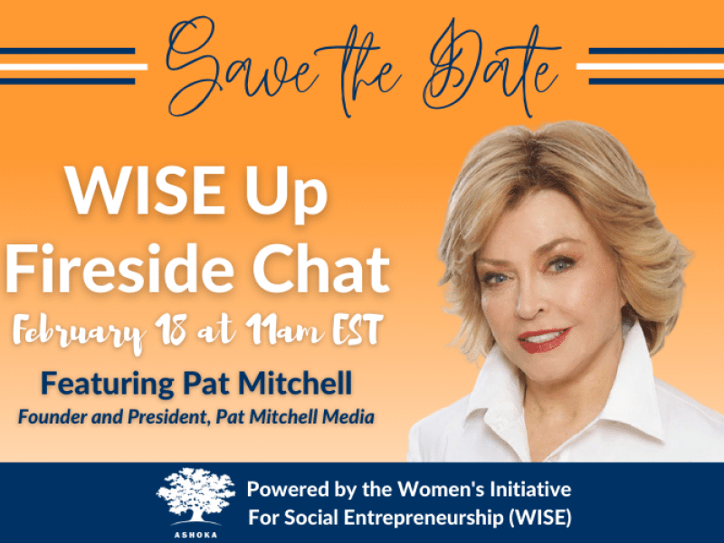 WISE Up Fireside chat with Pat Michell