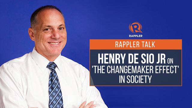 Henry De Sio Rappler Talk