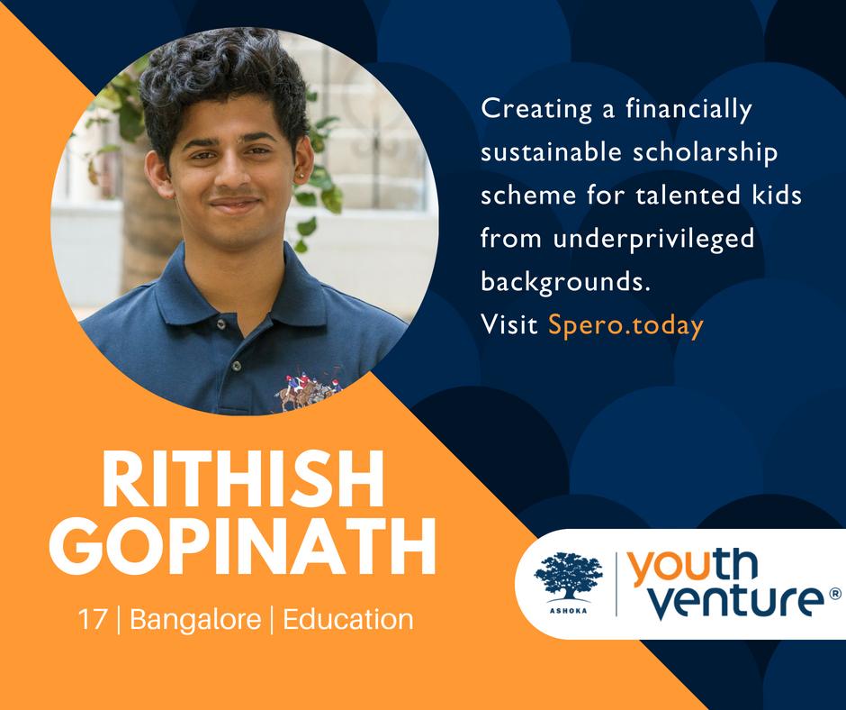 YV India Batch 8 - Rithish Gopinath
