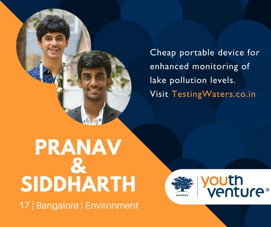 YV India Batch 8 - Pranav Shikarpur & Siddharth Viswanath