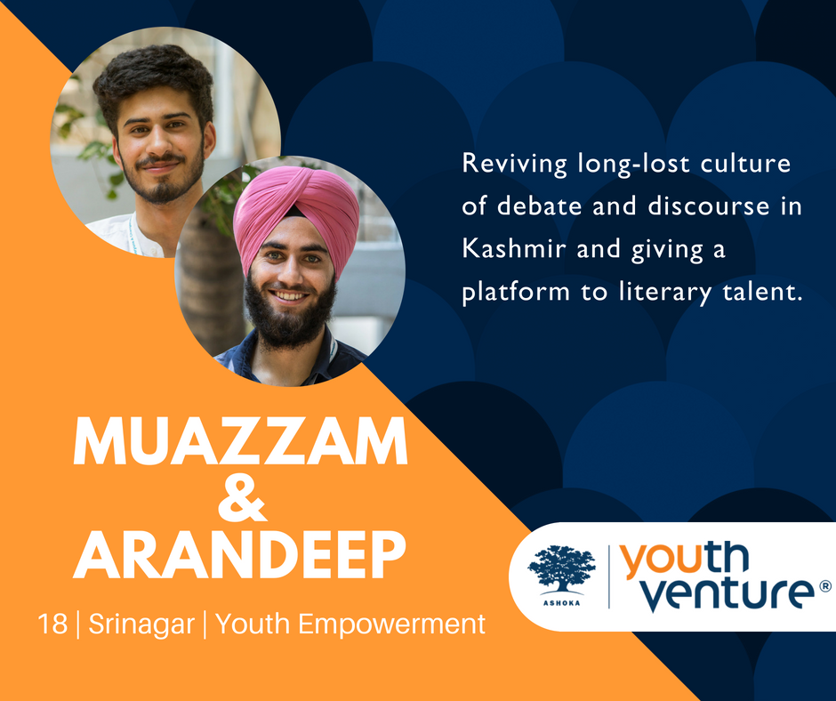 YV India Batch 8 - Muazzam Nasir & Arandeep Singh