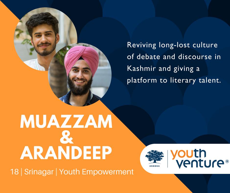 YV India Batch 8 - Muazzam Nasir & Arandeep Singh