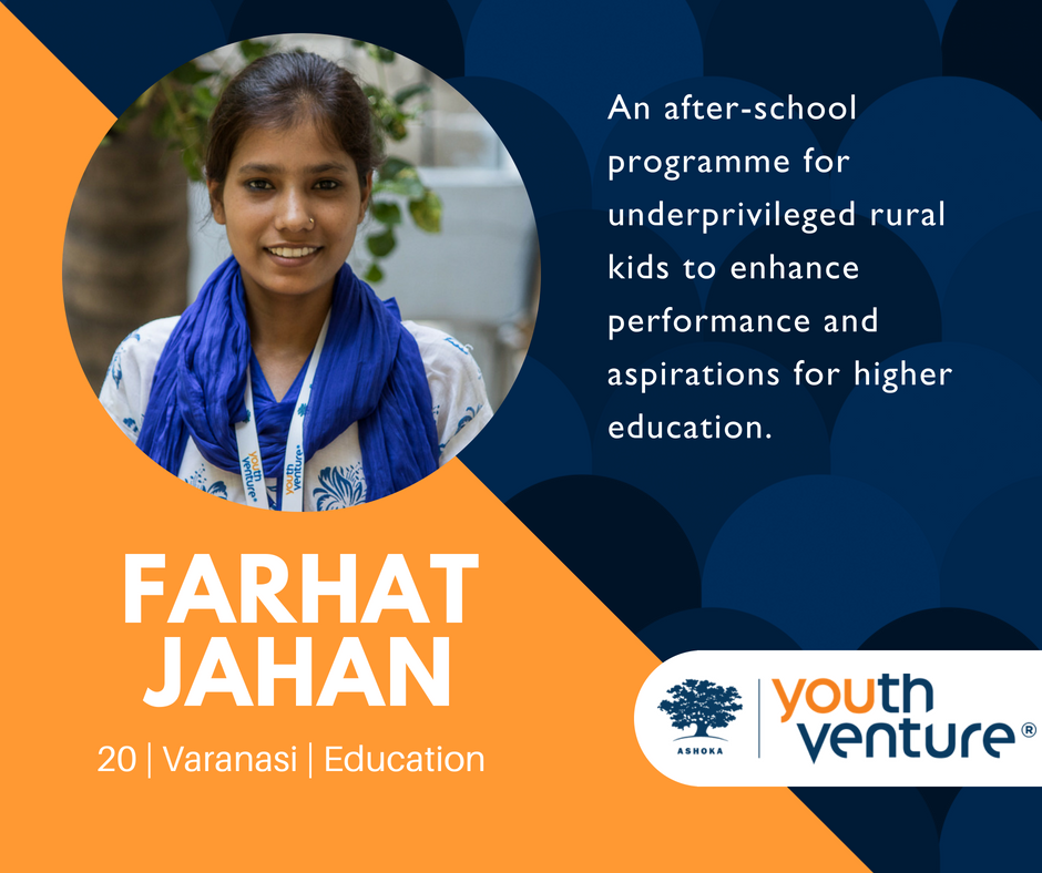 YV India Batch 8 - Farhat Jahan