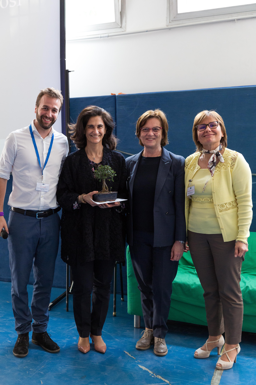 Premiazione Tosi Scuola Changemaker