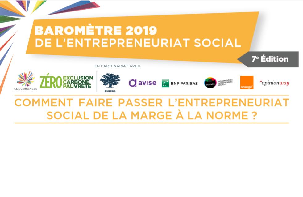Baromètre de l'Entrepreneuriat Social 2019