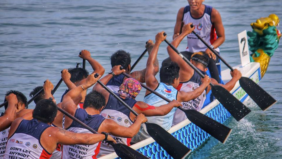 Ashoka Fellow JP Maunes PADS Dragonboat Team