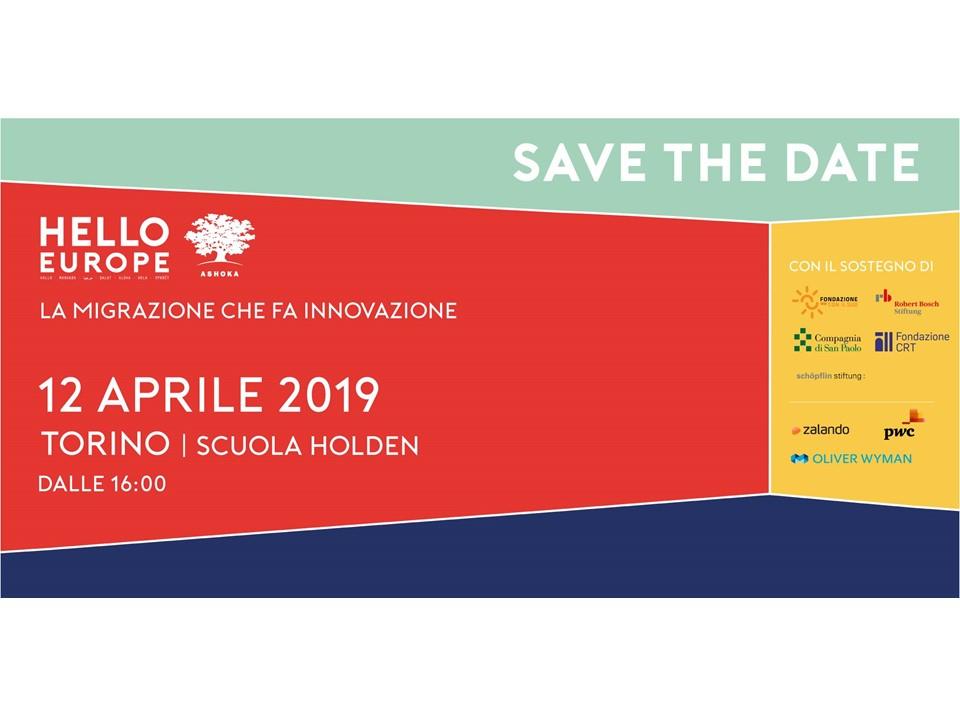 Hello Europe Torino 2019