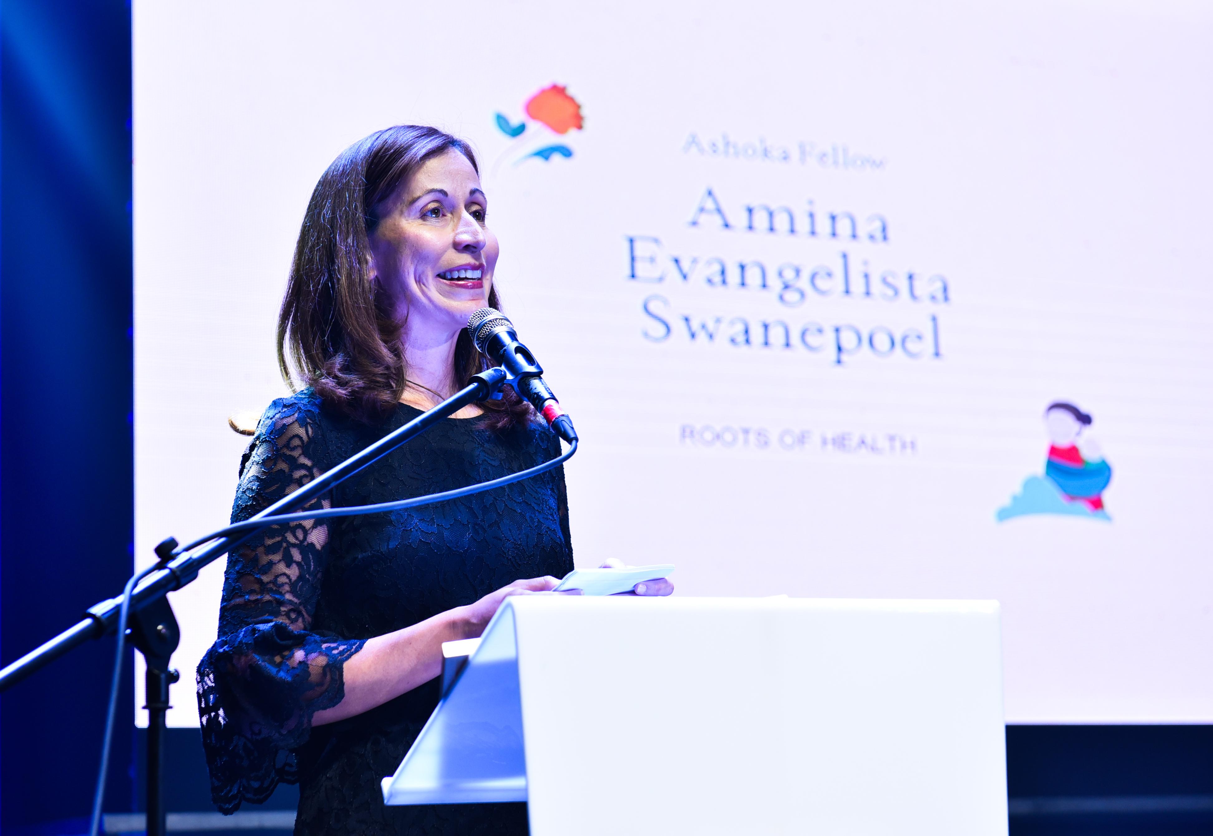 Ashoka Fellow Amina Evangelista Swanepoel