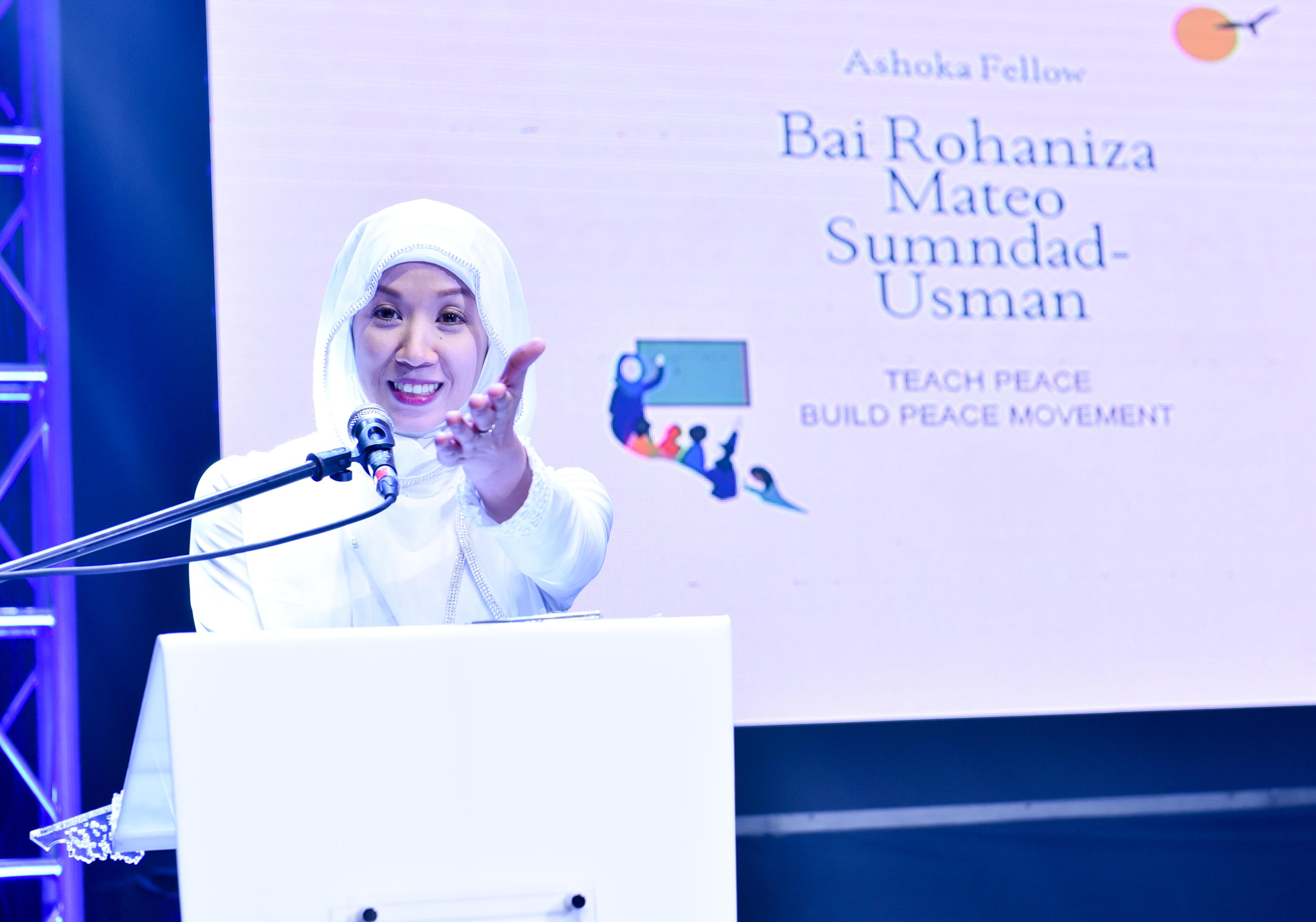 Ashoka Fellow Bai Rohaniza Sumndad-Usman